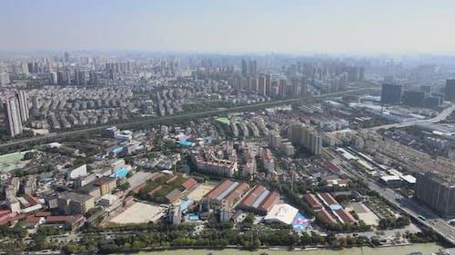 Urban Skyline, China
