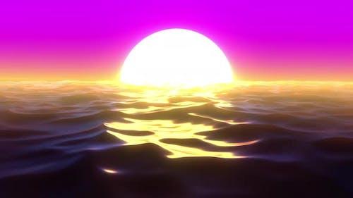 Retro Sunset 03