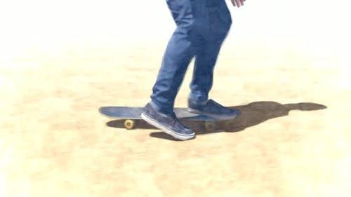 Skater Stop Motion