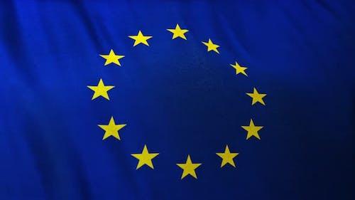 Full Frame Flag of the European Union