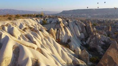 Beautiful Landscape of Cappadocia Valley