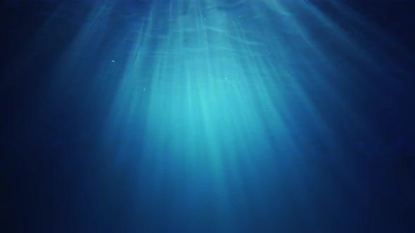 Underwater Sunlight Beams