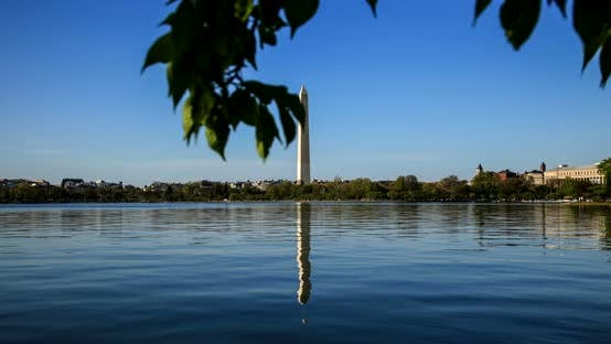 Thumbnail for Washington Monument Reflecting On The Lake 27B