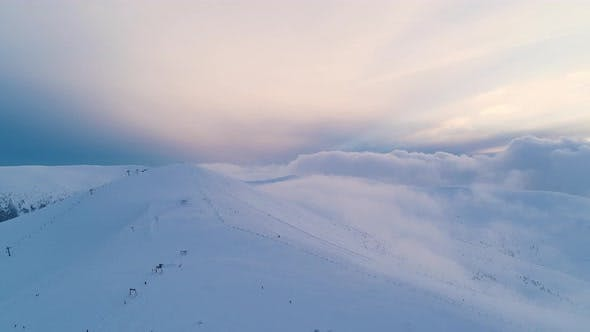 Bewitching View of the Majestic Snowdrifts