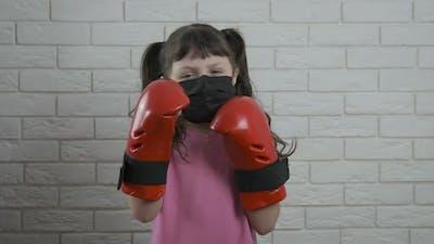 Kickboxing in Quarantine.