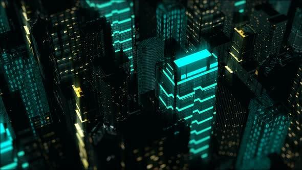 Thumbnail for Night Digital City