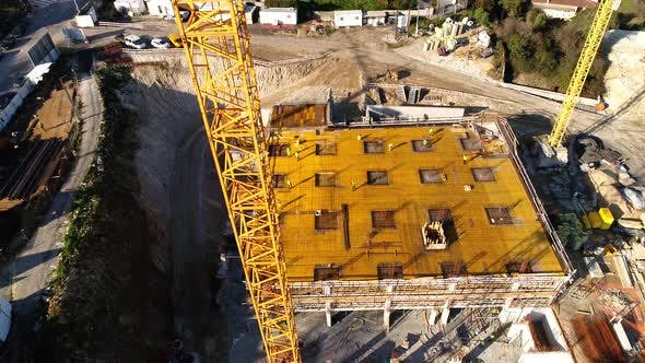 Thumbnail for Crane in Construction