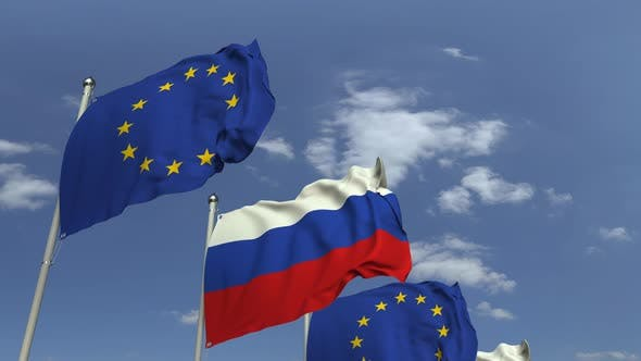 Thumbnail for Flags of Russia and the European Union