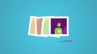 Modern editing application, visual presentation