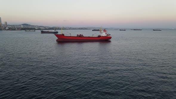 Ship Sunset