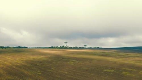 Flight Near the Astronomical Radio Telescope