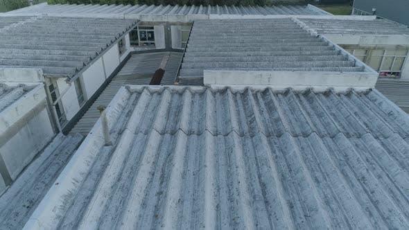 Asbestos Roof Aerial