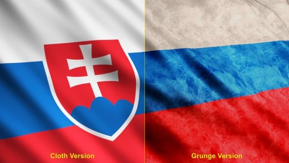 Thumbnail for Slovakia Flags