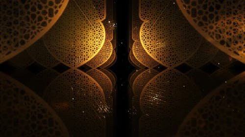 Ramadan Kareem Pattern 01 HD