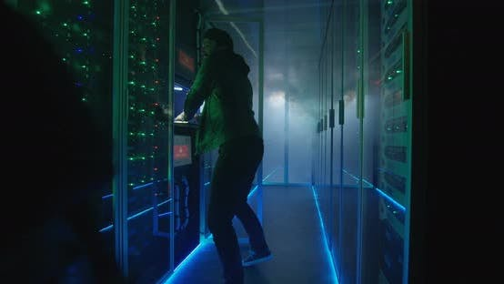 Cover Image for Two Hackers Finishing Hack and Escaping a Smoke-filled Room