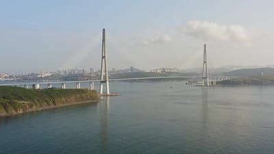 View From the Drone to the Russian Bridge