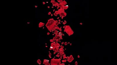 Red Crystal Flying