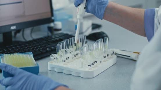 Crop Doctor Analyzing Biological Substances