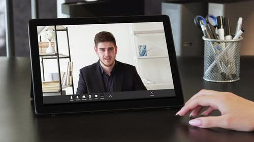 Video Call Online Conference
