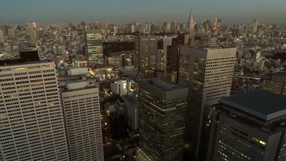 Thumbnail for Tokyo Sunset Skyline
