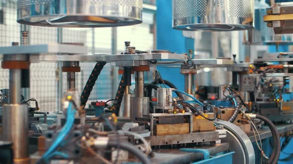 Thumbnail for Automatic Production Line Manufacturing Drums for Washing Machine at Factory