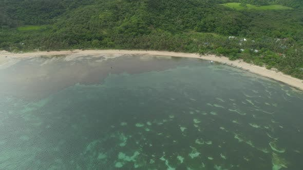 Thumbnail for Seascape with Beach and Sea. Philippines, Luzon