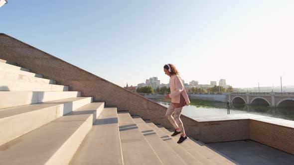 Thumbnail for Treppen-Workout im Freien