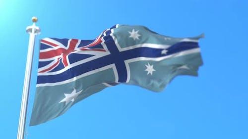 Australischer Fähnrich der Zivilluftfahrt, Australien