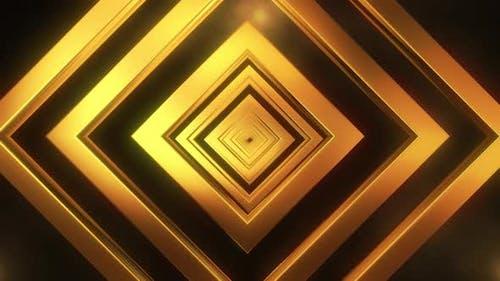Gold Diamond Loop