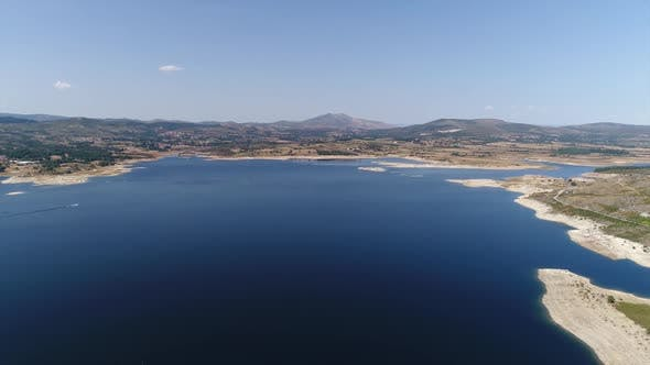 Thumbnail for Flying Over Wonderful Nature Landscape From Portugal