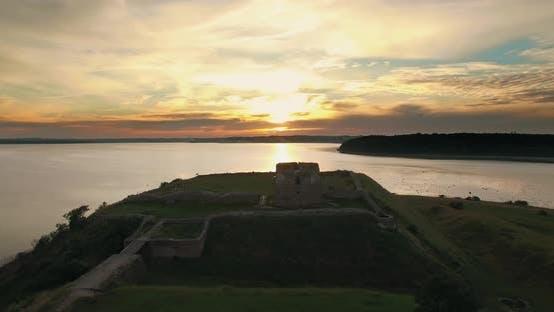 Kalo Castle During Golden Hour
