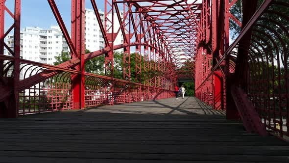 Thumbnail for Berlin City - Tegel Lake - Park Bridge