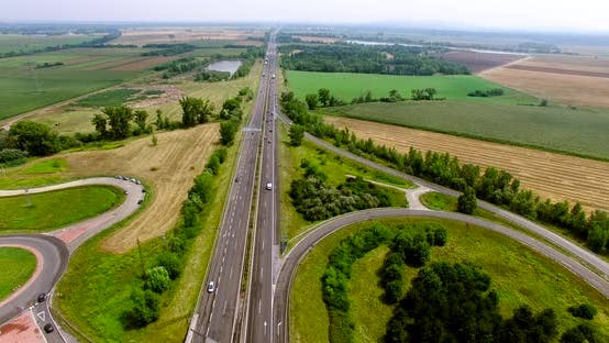 Thumbnail for Intercity Road Traffic 4K