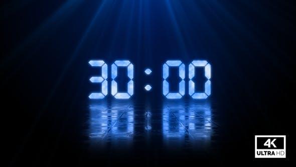 Digital Negative Countdown 30 Seconds