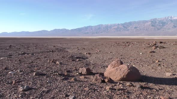 Thumbnail for Desert Death Valley Below Sea Level Lowest Point North America Big Rock