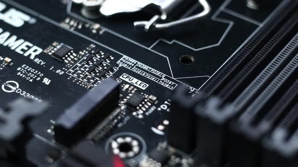 Modern Computer Motherboard Circuit 01