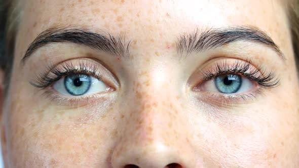 A Close Up of a Persons Face