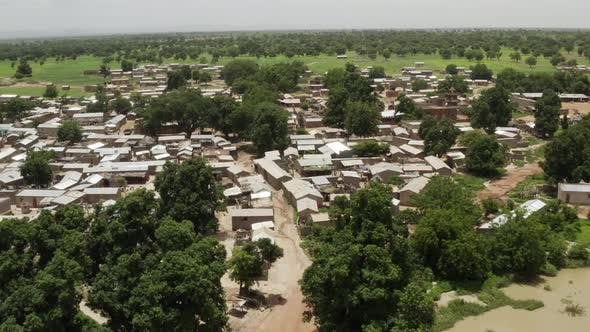Thumbnail for Africa Mali Village Aerial View