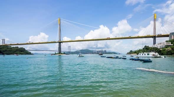 Thumbnail for Time lapse bridge in Hong Kong