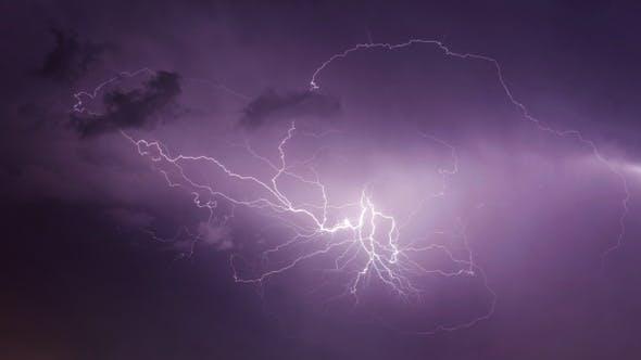 Lightnings in Storm