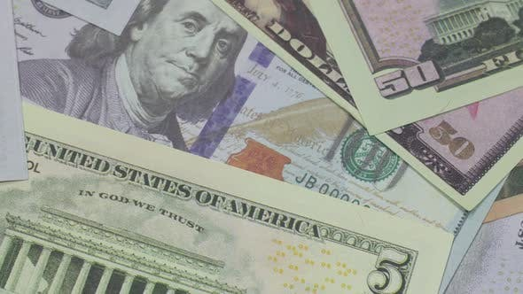 Beautiful American Currency