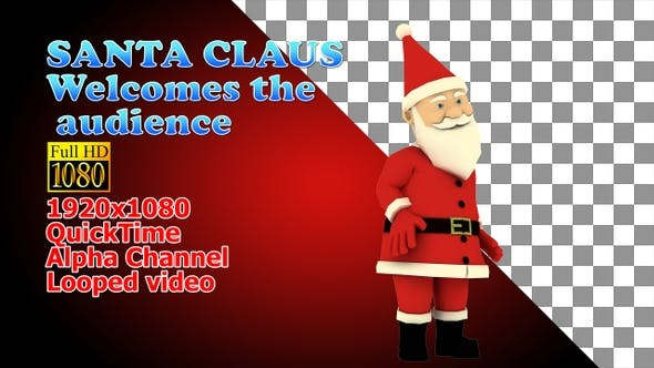 Thumbnail for Greeting Santa Welcome Audience