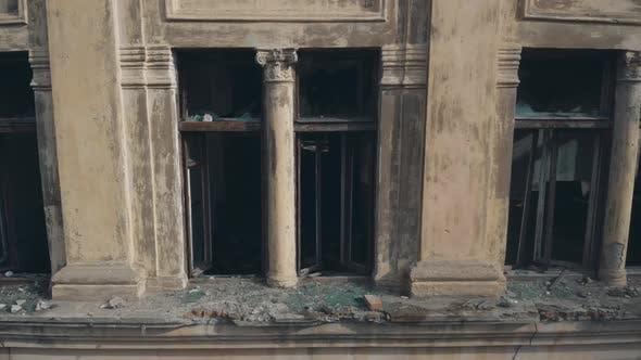 Ancient Building in Disrepair