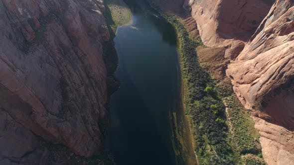 Thumbnail for Aerial view of Colorado River