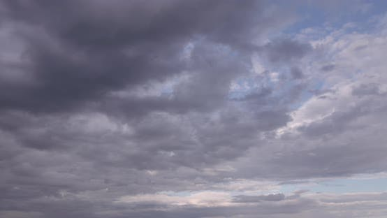 Timelapse Of Cloudy Sky
