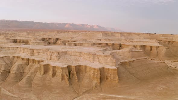 Thumbnail for AS Flying Over the Judean Desert Near Masada and the Dead Sea