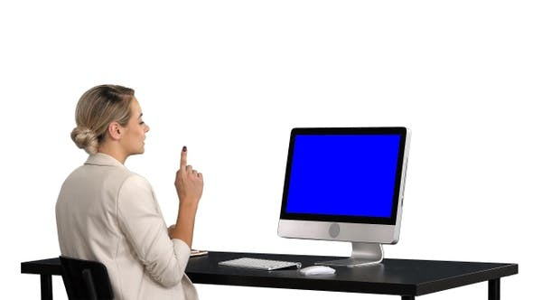 Thumbnail for Business video call businesswoman having videoconference,