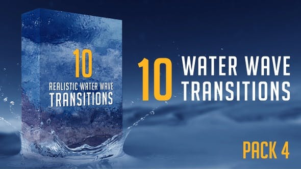 Thumbnail for Water Wave Transitions Pack 4