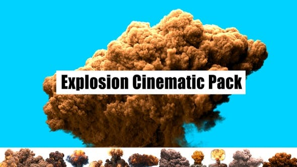 Thumbnail for Explosion Cinematic Pack