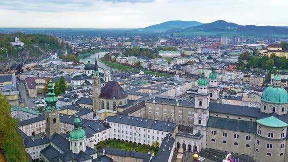 Cover Image for Franciscan Church and Salzburg Cathedral, Austria